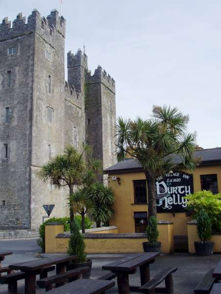 Bunratty Castle with Durty Nel