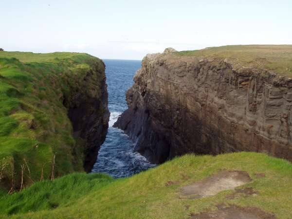 Cliffs on Loop Head
