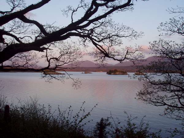 Evening on Lough Leane