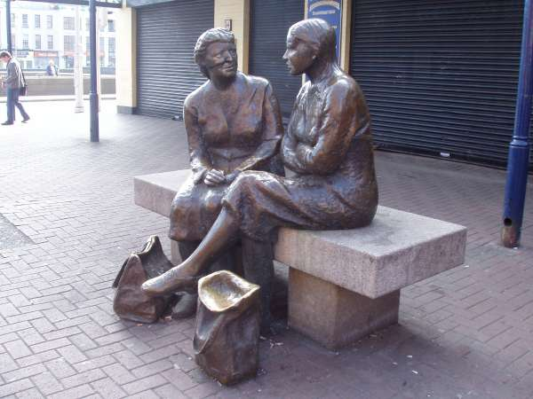 Two Women - Lower Liffey Stree